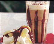 Irish chocolate coffee